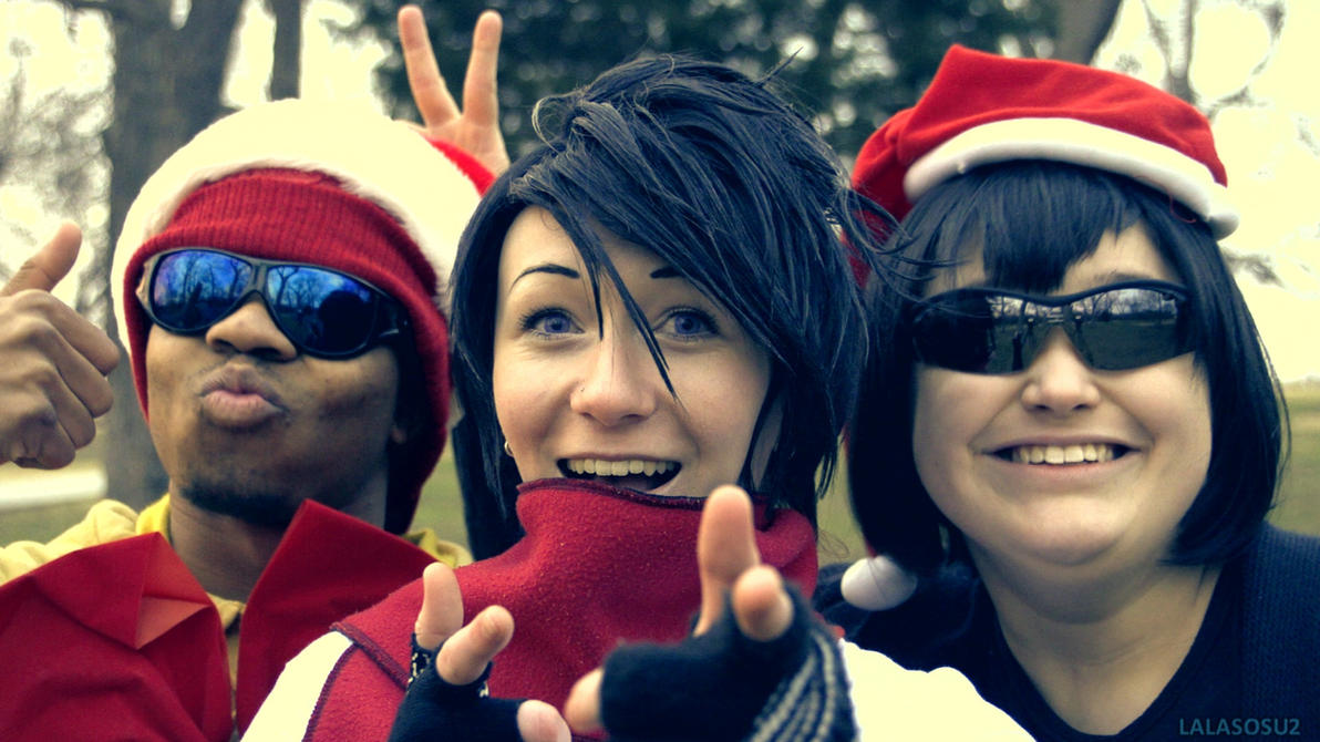 Merry Christmas - Danny Phantom Crew by LALASOSU2