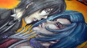 Painting Commission - ShokuxToki by LALASOSU2