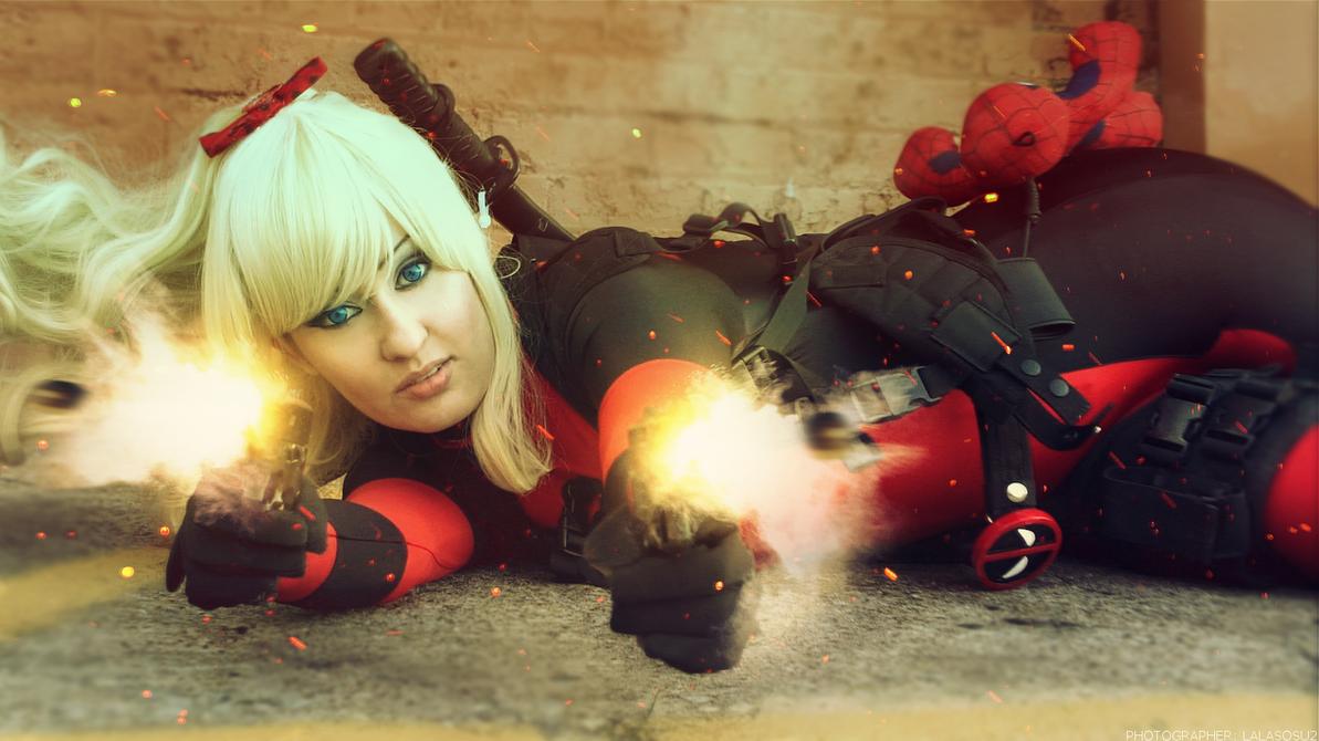 Bang Bang - Lady Deadpool by LALASOSU2
