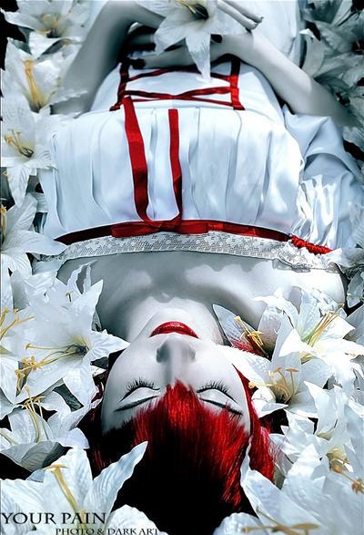 Madame Red eternal sleep by Vavalika