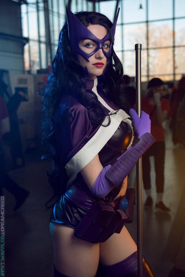 Huntress DC by Vavalika