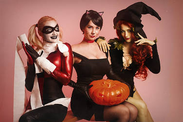 Halloween in Gotham by Vavalika