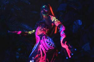 Neon Astro Forest