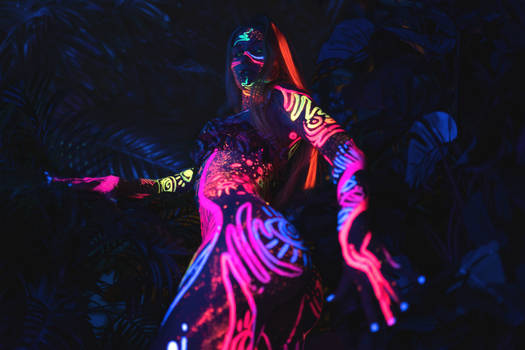 Neon Astro Forest