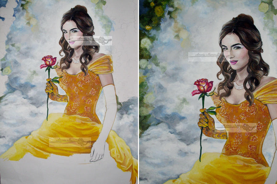Camilla Belle By Hlcaste On Deviantart: Belle Of Rose Wip3 By Aramismarron On DeviantArt