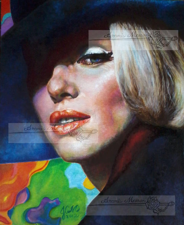 marilyn monroe in '62 by aramismarron