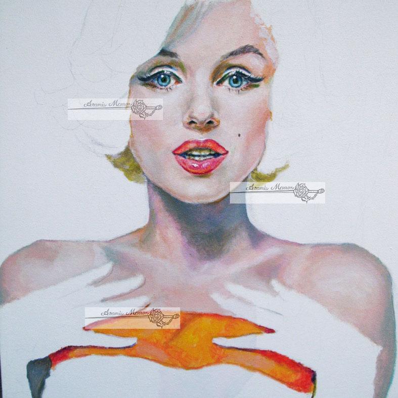 Marilyn monroe 1962 by aramismarron