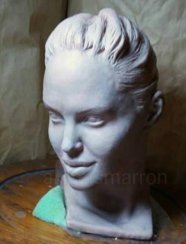 lara croft head