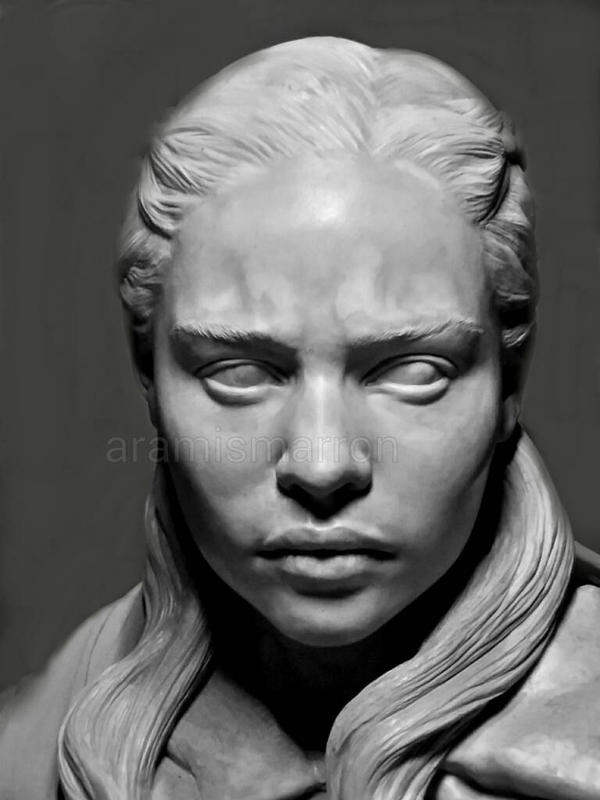 khaleesi commission bust by aramismarron