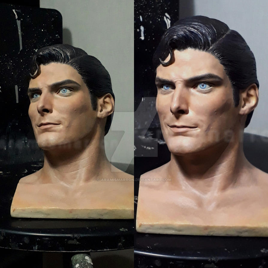 Superman wip by aramismarron