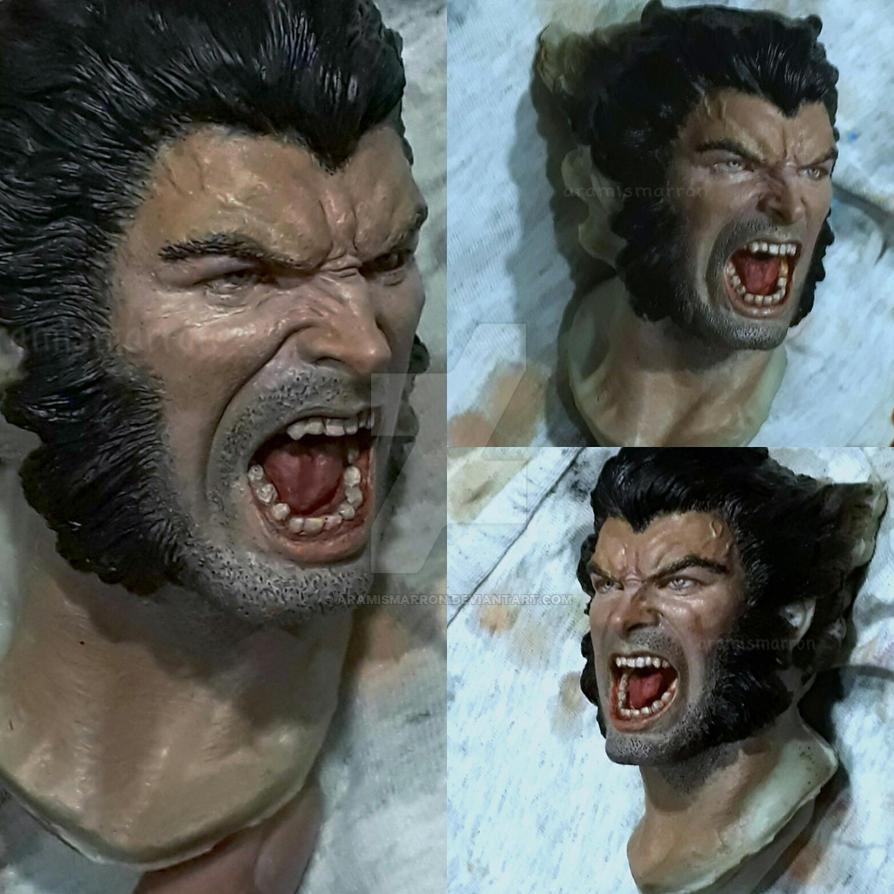 Logan comic version wip by aramismarron