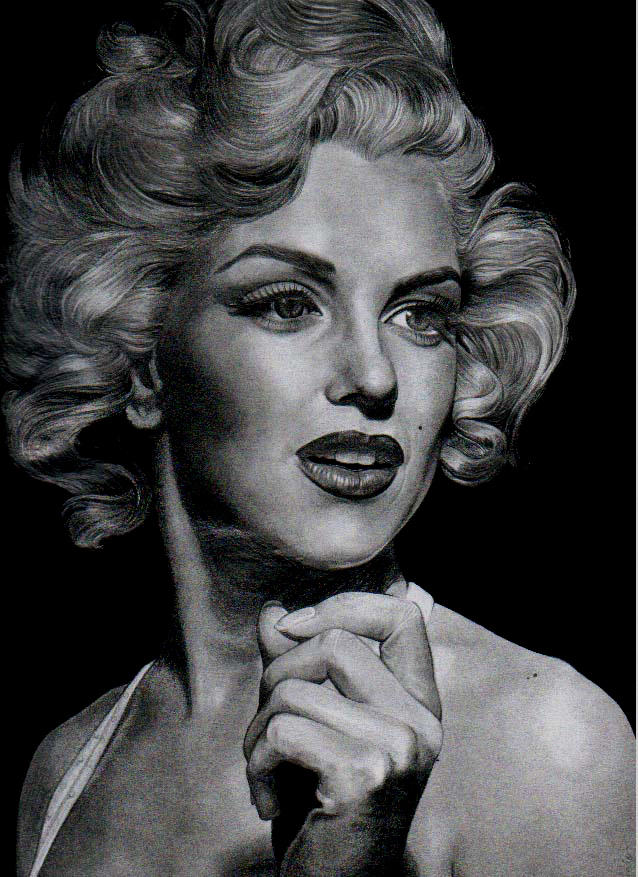 the legendary marilyn monroe by aramismarron