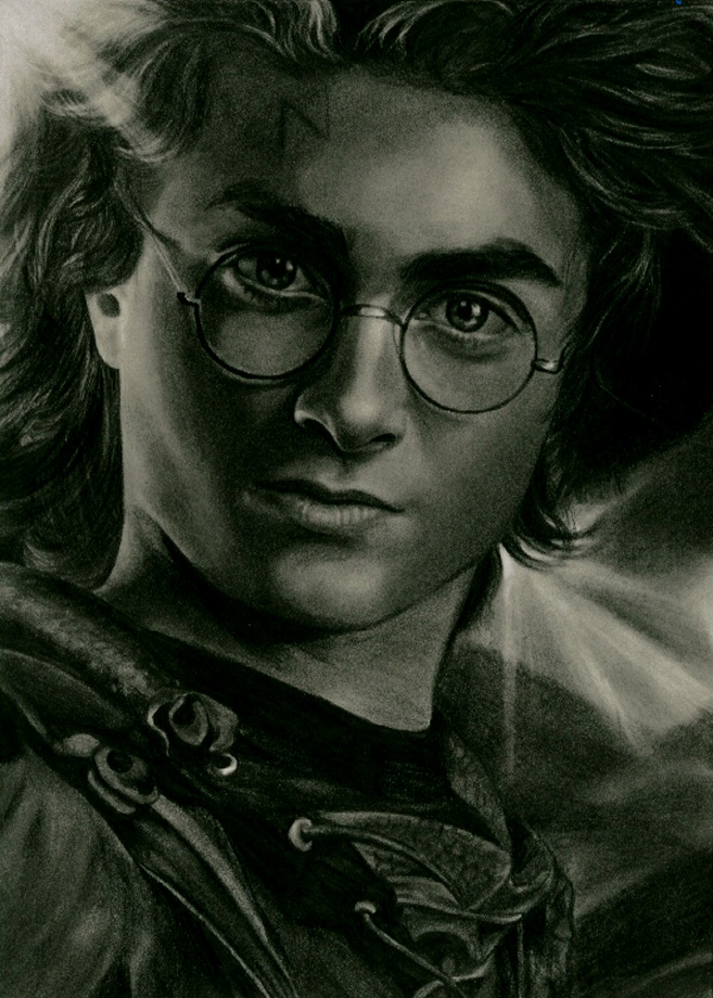 harry potter by aramismarron