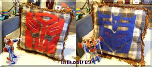 Transformers pillow