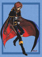CAPTAIN HARLOCK by Guard-of-Minasteris