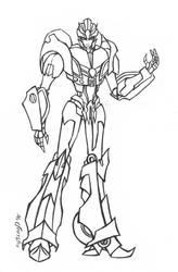 OC Ellara - sketch by Guard-of-Minasteris