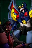 Deszaras and DarkSaber by Guard-of-Minasteris