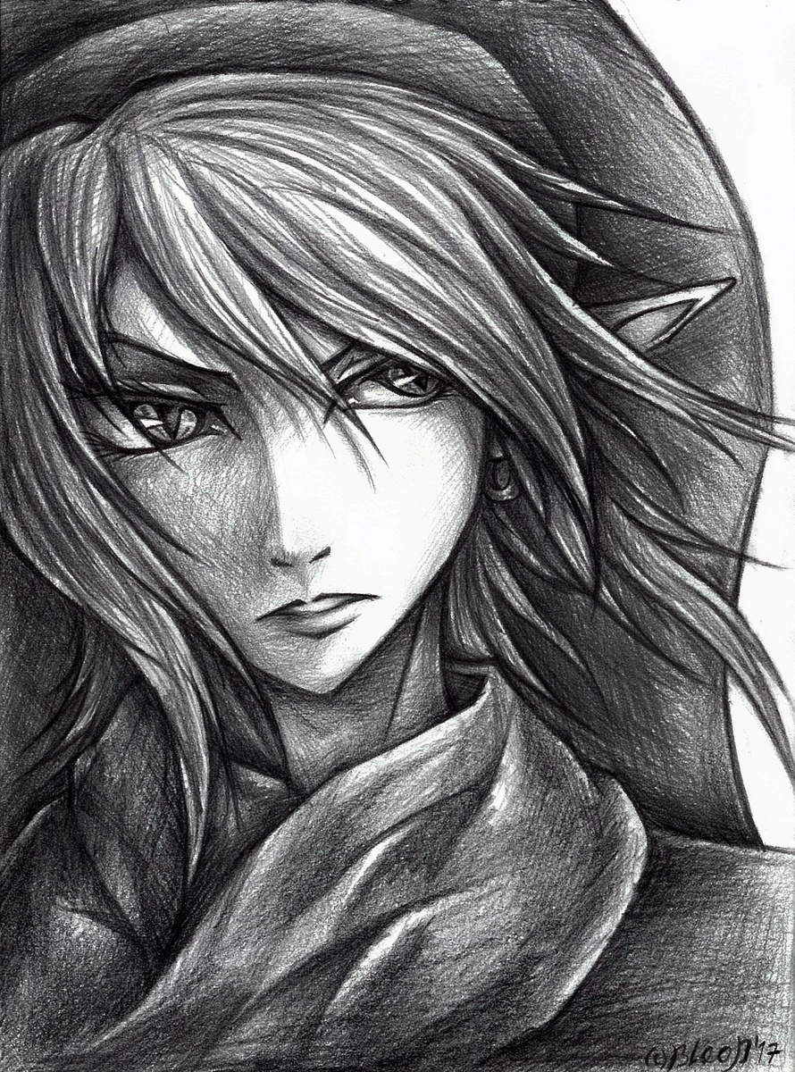 Dark Link by Guard-of-Minasteris