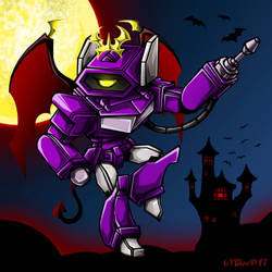 TF Shockwave Halloween 2017 by Guard-of-Minasteris