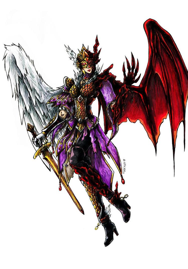 Fallen Angel 2 by Guard-of-Minasteris