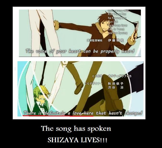Shizaya lives!! by demonlucy