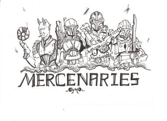 The Mercenaries by Sulkon88