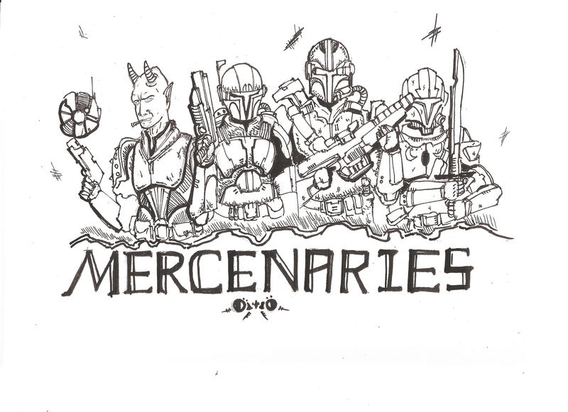 The Mercenaries by Sulkon88