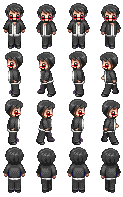 CaptainSparklez sprite sheet by PyroDemonX