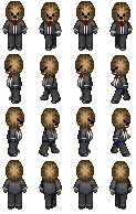 Jerome/Fluffy/Bacca sprite sheet by PyroDemonX