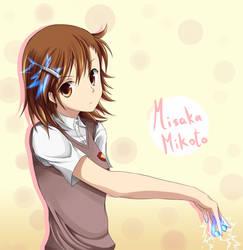 Misaka Mikoto- Only my Railgun by V-Nix