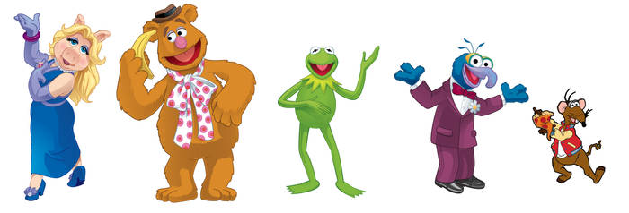 The Muppets by cpeters1