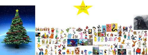 Cartoon and Live Action All-Stars to the Rescue by cpeters1
