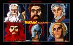 Shazam Elders by cpeters1