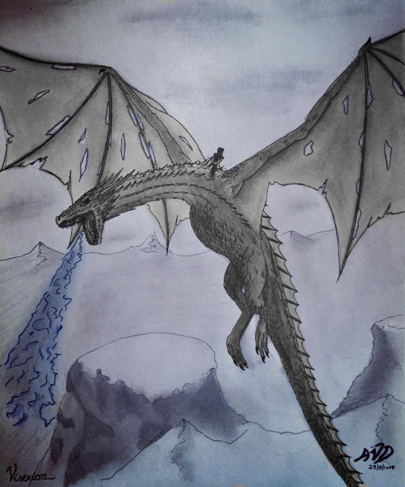 Viserion The Night King By Drenevus On DeviantArt