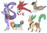 Pokemon Sona 1-5 Gen.