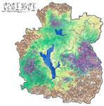 Landkarte Isharia by Megaloceros-Urhirsch