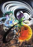 Spectrum Artbook - Element by Megaloceros-Urhirsch