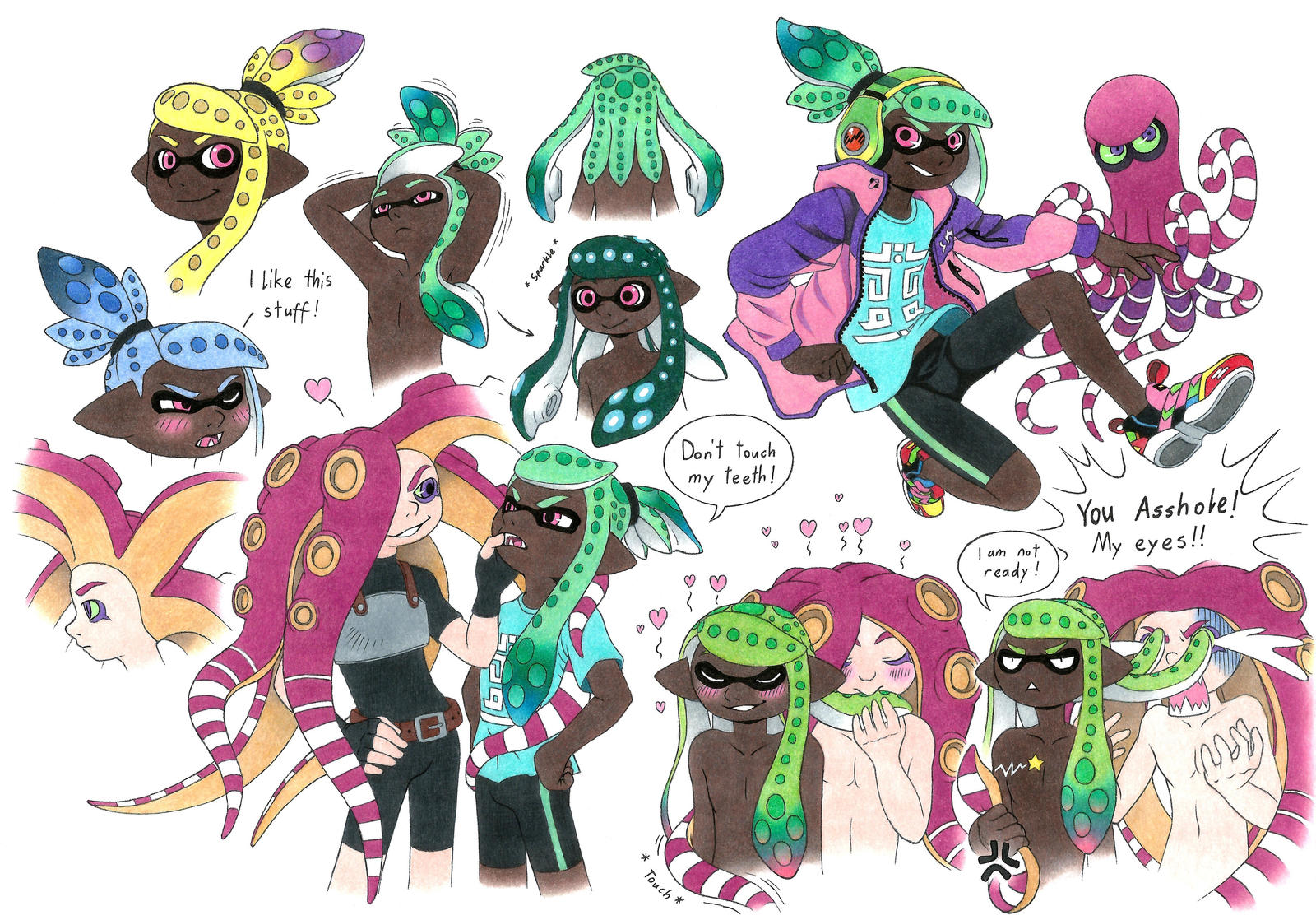 Splatoon OC by Megaloceros-Urhirsch on DeviantArt