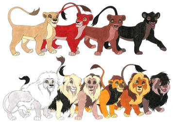 The Lion King OCs