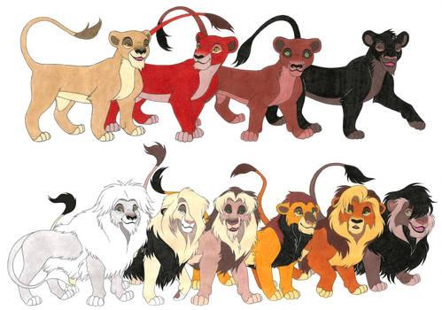 The Lion King OCs