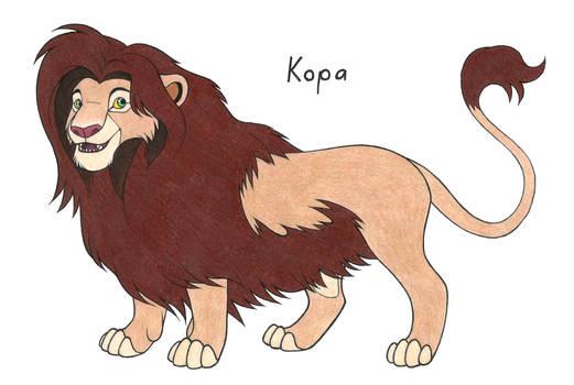 The Lion King Kopa
