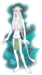Albino Na'vi OC