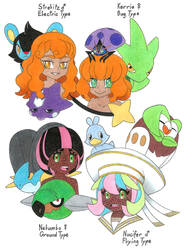 Pokemon Fan Children: Milo+Nessa and Leon+Sonia