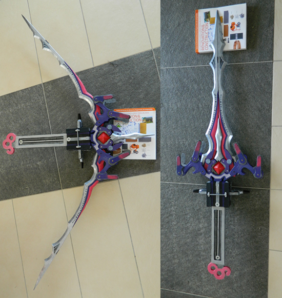 Serah's bow/sword by EatherXII