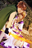 Tsubasa - I'll protect her by KuRumi-FlameSamurai