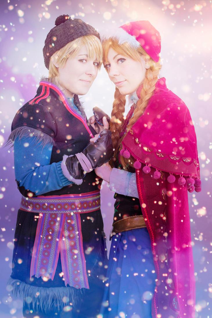 Frozen Kristoff and Anna by KuRumi-FlameSamurai