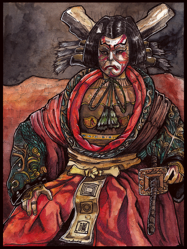 King Oni by MalthusWolf