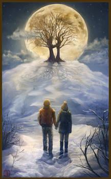 Commission: Winter scene