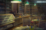 [C] The library cafe