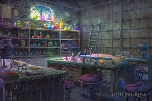 [C] Potions classroom
